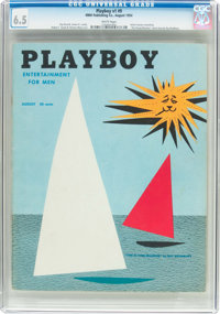Playboy #9 (HMH Publishing, 1954) CGC FN+ 6.5 White pages