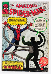 The Amazing Spider-Man #3 (Marvel, 1963) Condition: GD/VG