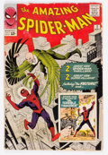 Silver Age (1956-1969):Superhero, The Amazing Spider-Man #2 (Marvel, 1963) Condition: FR/GD....