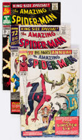 Silver Age (1956-1969):Superhero, The Amazing Spider-Man Annual #1, 3, and 4 Group (Marvel, 1964-67).... (Total: 3 Comic Books)