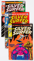 Silver Age (1956-1969):Superhero, The Silver Surfer Group (Marvel, 1969-70).... (Total: 5 Comic Books)