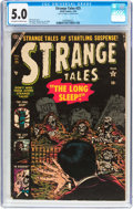 Golden Age (1938-1955):Horror, Strange Tales #25 (Atlas, 1954) CGC VG/FN 5.0 Off-white to whitepages....