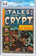 Golden Age (1938-1955):Horror, Tales From the Crypt #36 (EC, 1953) CGC FN- 5.5 Off-white pages....