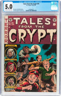 Golden Age (1938-1955):Horror, Tales From the Crypt #39 (EC, 1953) CGC VG/FN 5.0 Off-white towhite pages....