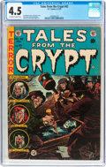 Golden Age (1938-1955):Horror, Tales From the Crypt #42 (EC, 1954) CGC VG+ 4.5 Off-white to whitepages....