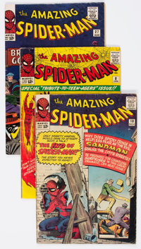 The Amazing Spider-Man Group of 10 (Marvel, 1964-65) Condition: Average GD/VG.... (Total: 10 Comic Books)