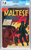Golden Age (1938-1955):Crime, Feature Books #48 The Maltese Falcon (David McKay Publications, 1946) CGC FN/VF 7.0 Off-white to white pages....