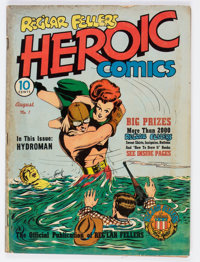 Heroic Comics #1 (Eastern Color, 1940) Condition: GD+