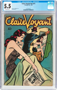 Claire Voyant #nn (Pentagon, 1946) CGC FN- 5.5 Off-white pages