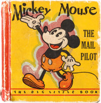 Big Little Book #731 Mickey Mouse The Mail Pilot - Variant Copy (Whitman, 1933) Condition: FR/GD