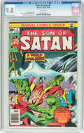 Bronze Age (1970-1979):Superhero, Son of Satan #6 (Marvel, 1976) CGC NM/MT 9.8 White pages....