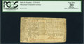 Colonial Notes:Maryland, Maryland March 1, 1770 $1/2 PCGS Apparent Very Fine 20.. ...