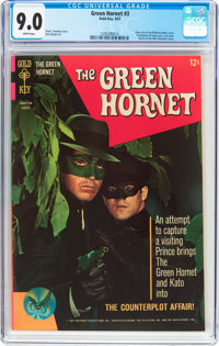The Green Hornet #3 (Gold Key, 1967) CGC VF/NM 9.0 White pages