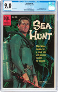 Silver Age (1956-1969):Adventure, Sea Hunt #4 (Dell, 1960) CGC VF/NM 9.0 Off-white to white pages....