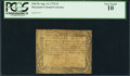 Colonial Notes:Maryland, Maryland August 14, 1776 $1 PCGS Very Good 10.. ...
