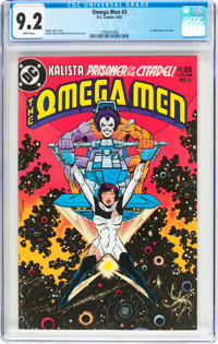 The Omega Men #3 (DC, 1983) CGC NM- 9.2 White pages
