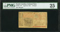 Colonial Notes:New Jersey, New Jersey April 23, 1761 £3 PMG Very Fine 25.. ...