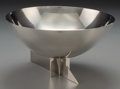 Silver & Vertu:Hollowware, A Modernist Silver-Plated Centerpiece Bowl in the manner of La Maison Desny, 20th century. Marks: DESNY PARIS, MADE IN FRA...