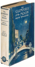 Books:Literature 1900-up, Edith Wharton. The Glimpses of the Moon. New York: 1922.First edition....