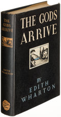 Books:Literature 1900-up, Edith Wharton. The Gods Arrive. New York: 1932. Firstedition....