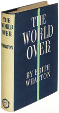 Books:Literature 1900-up, Edith Wharton. The World Over. New York: 1936. Firstedition....