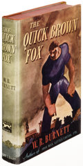 Books:Literature 1900-up, W. R. Burnett. The Quick Brown Fox. New York: 1942. Firstedition, bibliographer Adrian Goldstone's copy....