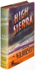 Books:Fiction, W. R. Burnett. High Sierra. New York: 1940. Firstedition....