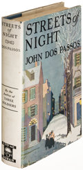 Books:Literature 1900-up, John Dos Passos. Streets of Night. New York: [1923]. Firstedition....