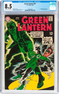 Silver Age (1956-1969):Superhero, Green Lantern #67 (DC, 1969) CGC VF+ 8.5 Off-white to white pages....