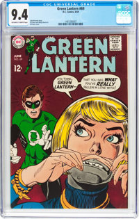 Green Lantern #69 (DC, 1969) CGC NM 9.4 Off-white to white pages