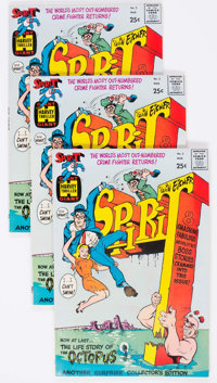 The Spirit #2 File Copies Group of 9 (Harvey, 1967) Condition: Average VF/NM.... (Total: 9 Comic Books)