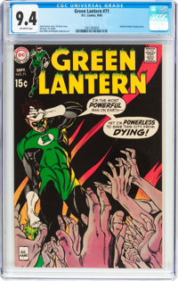 Green Lantern #71 (DC, 1969) CGC NM 9.4 Off-white pages