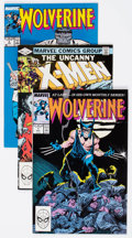 Modern Age (1980-Present):Superhero, Wolverine/X-Men Group of 21 (Marvel, 1981-89) Condition: AverageNM-.... (Total: 21 Comic Books)