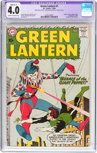 Green Lantern #1 (DC, 1960) CGC Apparent VG 4.0 Slight (C-1) Cream to off-white pages