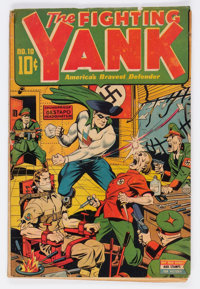Fighting Yank #10 (Nedor Publications, 1944) Condition: GD