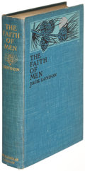 Books:Literature 1900-up, Jack London. The Faith of Men. New York: 1904. Firstedition....