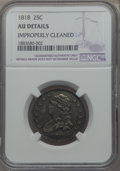 Bust Quarters, 1818 25C -- Improperly Cleaned -- NGC Details. AU. NGC Census: (10/192). PCGS Population: (21/188). CDN: $1,700 Whsle. Bid ...