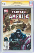 Modern Age (1980-Present):Superhero, Captain America #601 Signature Series (Marvel, 2009) CGC NM/MT 9.8White pages....