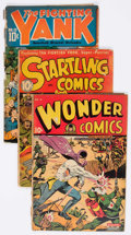 Golden Age (1938-1955):Miscellaneous, Nedor Golden Age Comics Group of 6 (Nedor, 1940s) Condition: Average FR/GD.... (Total: 6 Comic Books)