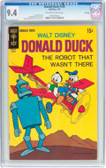 Bronze Age (1970-1979):Cartoon Character, Donald Duck #129 File Copy (Gold Key, 1970) CGC NM 9.4 Off-white towhite pages....