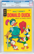 Bronze Age (1970-1979):Cartoon Character, Donald Duck #135 File Copy (Gold Key, 1971) CGC NM 9.4 Off-white towhite pages....