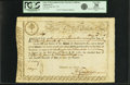 Colonial Notes:Massachusetts, State of Massachusetts Bay - (Act of October 13 & 22, 1777) 6%Treasury Loan Certificate due March 1, 1782 20 Pounds 16 Shilli...