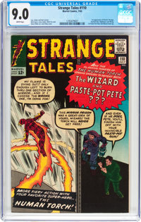 Strange Tales #110 (Marvel, 1963) CGC VF/NM 9.0 White pages
