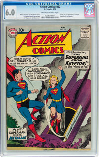 Action Comics #252 (DC, 1959) CGC FN 6.0 Cream to off-white pages