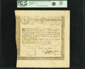 Colonial Notes:Massachusetts, State of the Massachusetts Bay - (Act of October 13, 1777) 6%Treasury Loan Certificate due March 1, 1781 30 Pounds 7 Shilling...