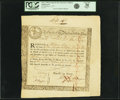 Colonial Notes:Massachusetts, State of the Massachusetts Bay - (Act of October 13, 1777) 6%Treasury Loan Certificate due March 1, 1781 215 Pounds 8 Shillin...