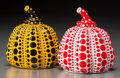 Post-War & Contemporary:Contemporary, Yayoi Kusama (Japanese, b. 1929). Red and Yellow Pumpkin(two works), 2013. Painted cast resin. 4 x 3-1/4 x 3-1/4 inches...(Total: 2 Items)