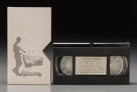 Christian Jankowski (German, b. 1968) Die Jagd, 1992/97 VHS-video, 1:11 min 4 x 7-1/4 inches (10