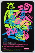 Post-War & Contemporary:Contemporary, Ryan McGinness (American, b. 1972). Women: The BlacklightPaintings (three exhibition posters), 2011. Screenprint withb... (Total: 3 Items)