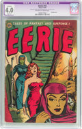 Golden Age (1938-1955):Horror, Eerie #15 (Avon, 1954) CGC Apparent VG 4.0 Slight (A) Off-white towhite pages....
